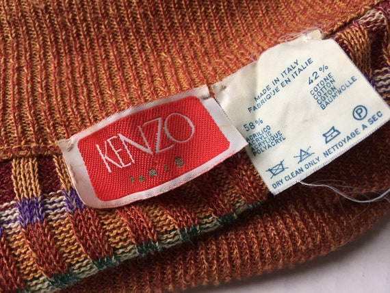 Kenzo short sleeve sweater, 1970's made in Italy.… - image 3