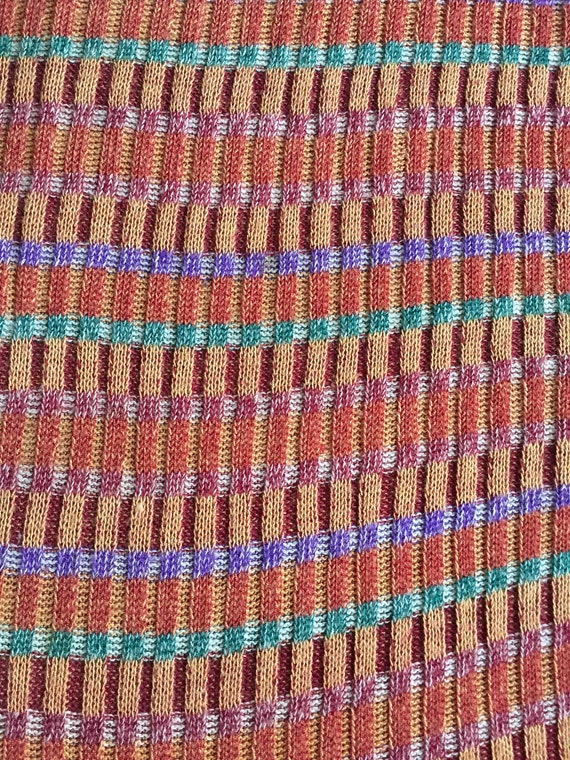 Kenzo short sleeve sweater, 1970's made in Italy.… - image 5