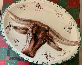 Western Platter Etsy