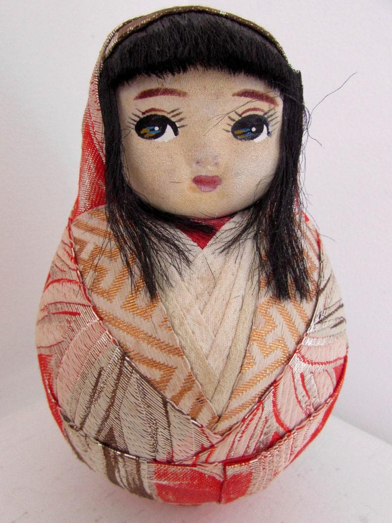 Japanese Doll Hime Daruma Doll Kimono doll
