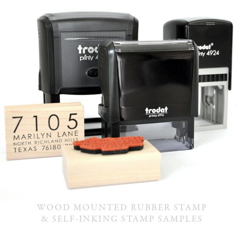 Typewriter Font Air Mail Mailing Rubber Stamp Wedding Stamp DIY Printing Custom Stamp Personalized Address Stamp Paper Airplane Stamp