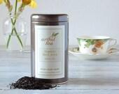 Earl Grey Organic Black Tea • 4 oz. of Luxury Loose Leaf Tea • Classic Black Tea with Oil of Bergamot