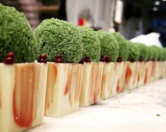 The Versailles Pistachio Topiary Truffle