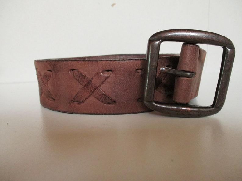 b9c7e7e6aef2c Leather Belt Father's Day Gift Boho belt Festival Belt | Etsy