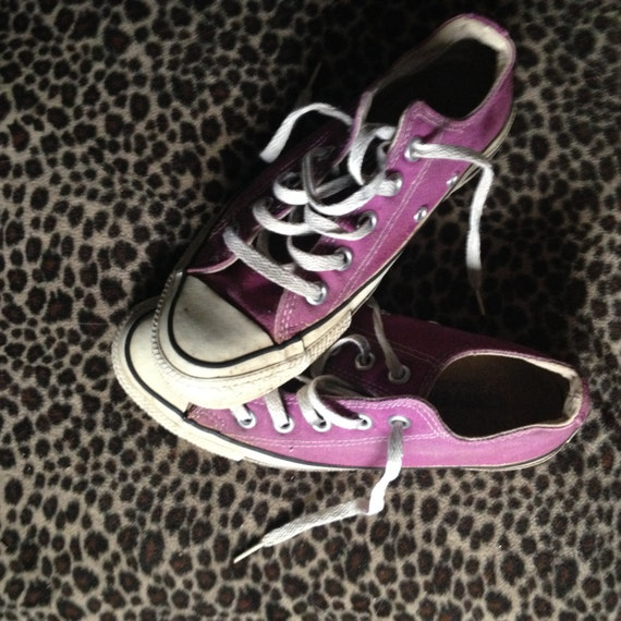 f6f2c286cacb Purple converse tennis shoes converse low tops vintage