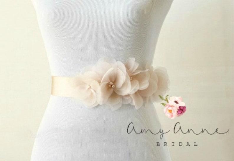 0e4ffe7133311 Blush Wedding Sash Blush Bridal Sash Pink Wedding Belt   Etsy