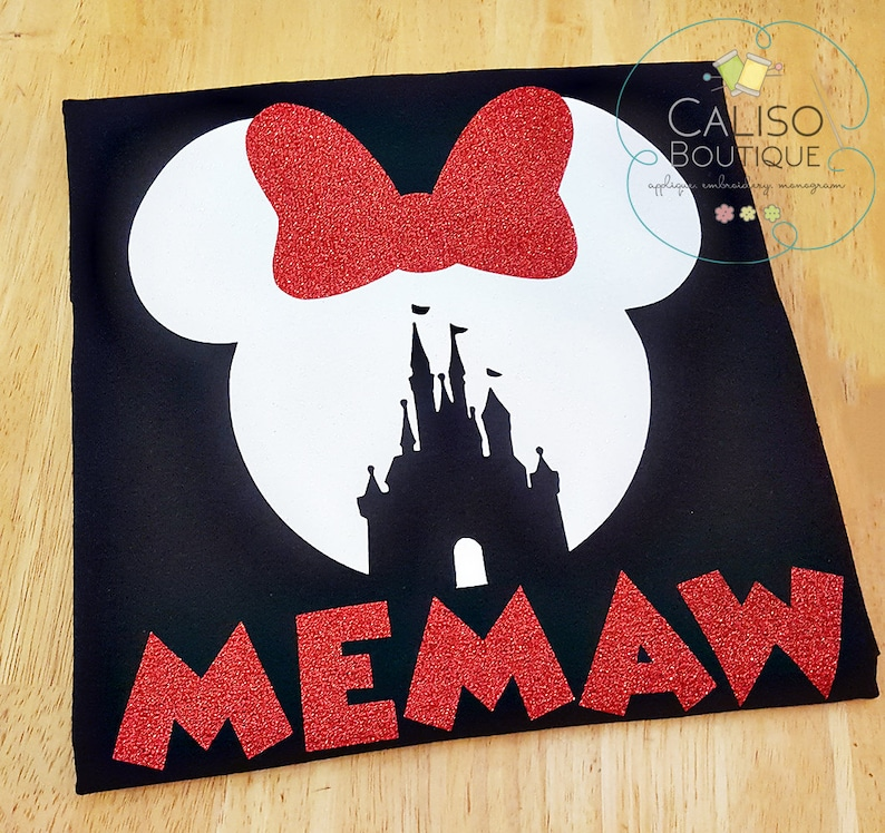 Disney Minnie Mouse Ears  Custom Vacation Shirts  Disney image 0