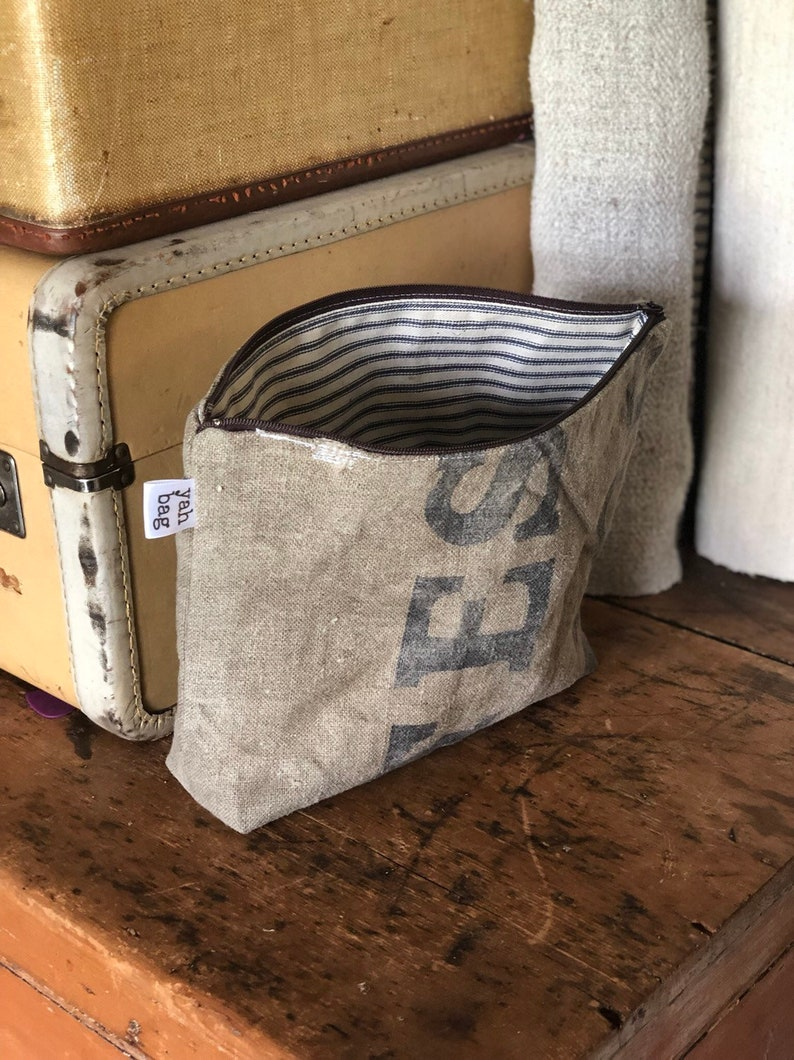 POST FRANCE  reconstructed vintage french post mail bag large image 0
