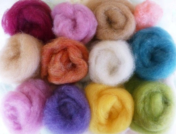 Merino Fiber Pieces, 1 LB,Spinning, Felting, Weaving, Stuffing, Hand dyeing