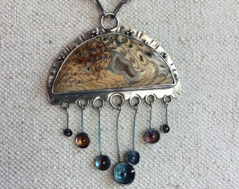 Hells Canyon Petrified Sequoia Neclace