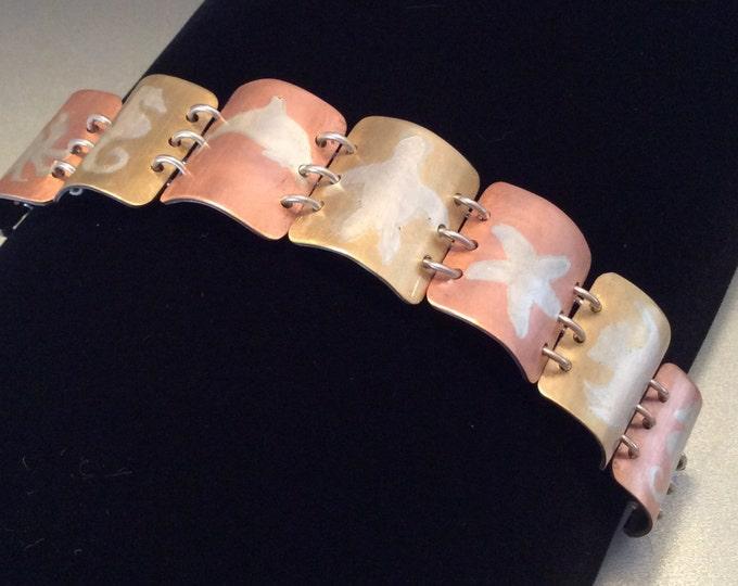 Seaside Sterling Silver Bracelet