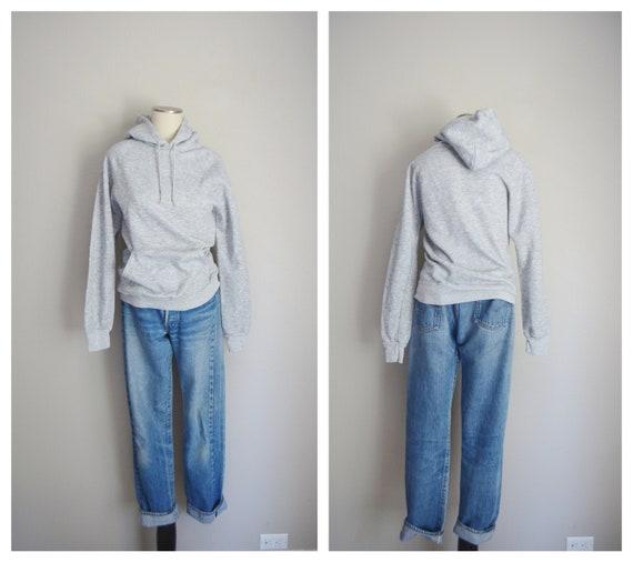 heather gray hoodie - xsmall