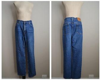 levi's 512 jeans / vintage 80s slim straight USA levis jeans - 32x30