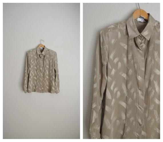 shimmer secretary blouse - medium