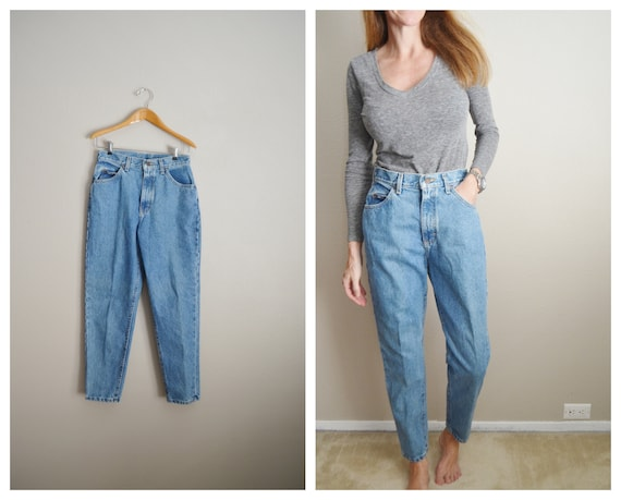 80s Lee high rise jeans - 26x28