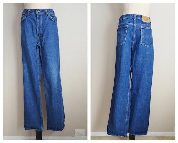 517 dark wash levi's jeans - 36x31