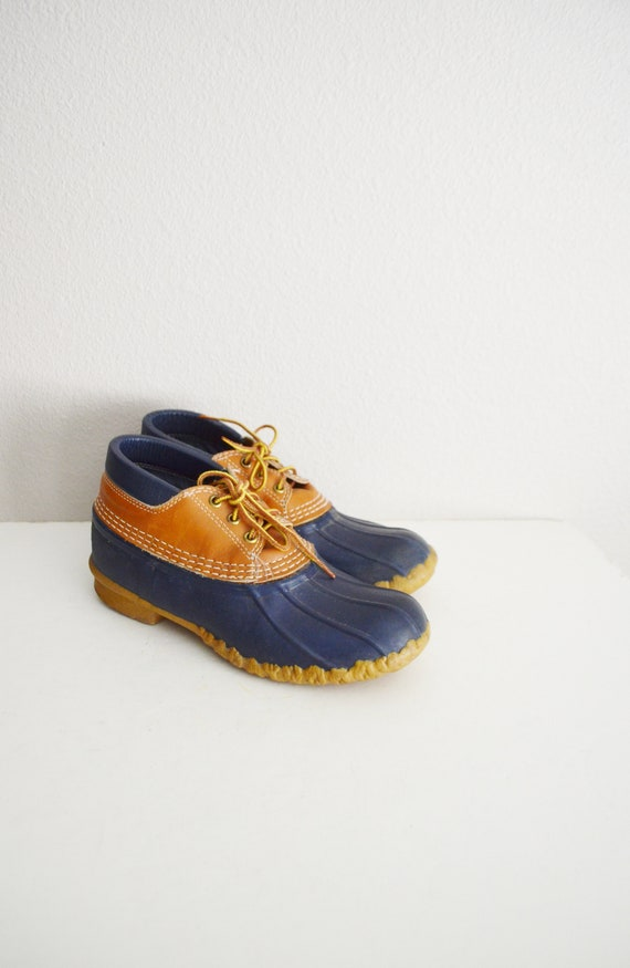 80s bean boot duck ankle bootie -8