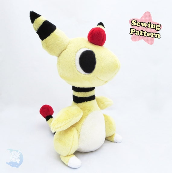 Denryu Plushie Sewing Pattern Download Pdf Embroidery Etsy