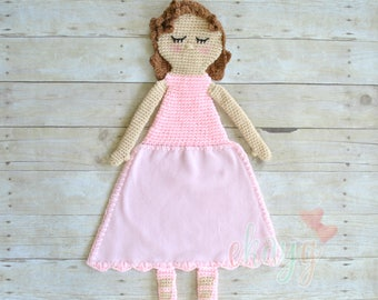 Frances, Curly Haired Ballerina Lovey Doll