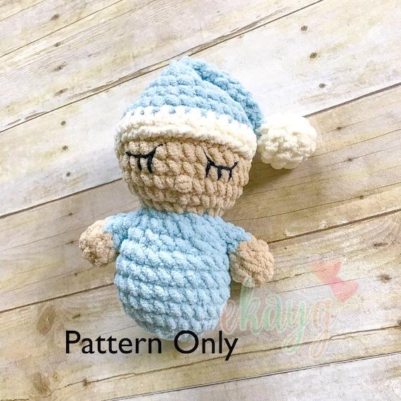 Crochet Pattern Quick And Easy Bernat Baby Doll Etsy