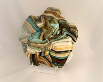Stunning Abstract Decorative Art For The Home in Shades of Turquoise & Greens