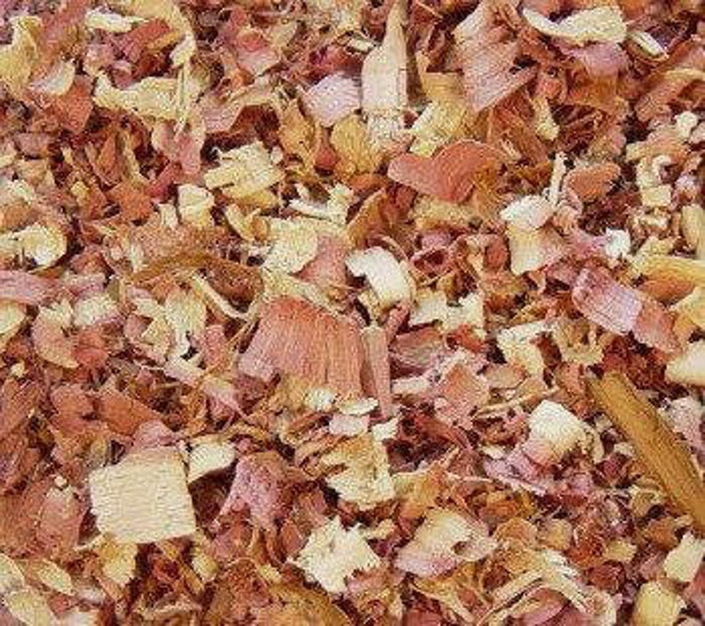 ORGANIC Cedar Shavings 5, 10 Cups Dried Cedar Chips, Red Cedar Bulk // USA  Grown, Wild Harvested, Pennsylvania Amish Furniture By Product