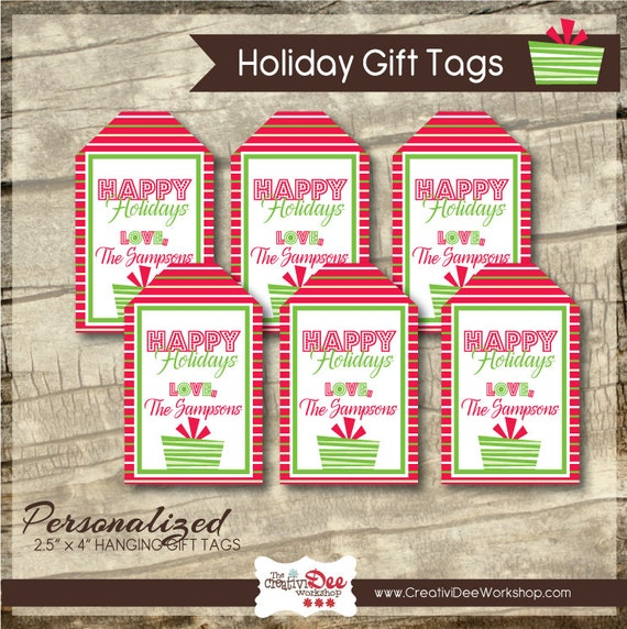picture relating to Personalized Gift Tags Printable identify Trip Present Tags - Printable Present Tag - Trainer Reward Tags - Placing Present Tags - Custom made - Reward Tags - Xmas Tags