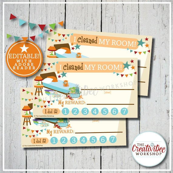 picture regarding Printable Punch Cards titled Printable Cleaned My Area Punch Playing cards, Editable, Orange
