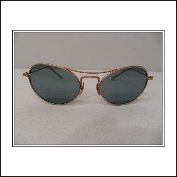 Green Sunglasses 1960s European