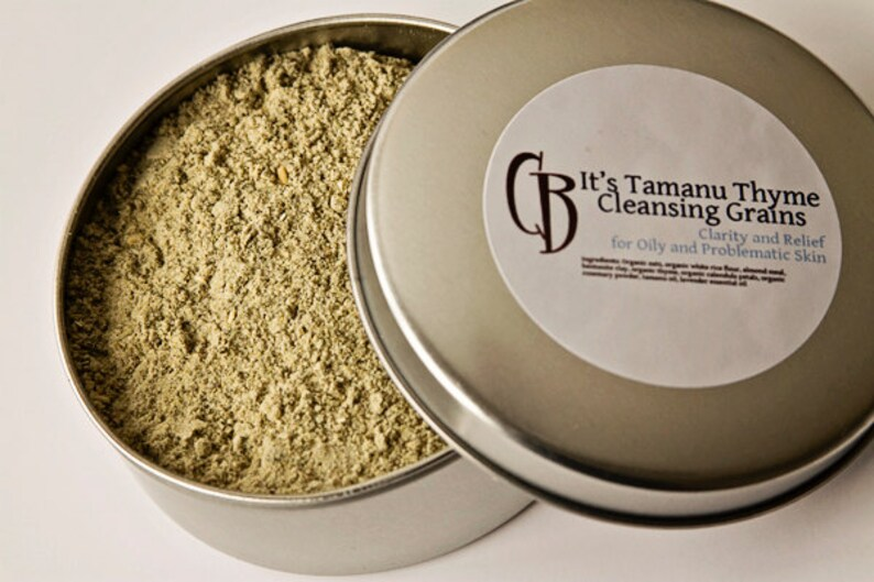 It's Tamanu Thyme Cleansing Grains  3.25 oz image 0