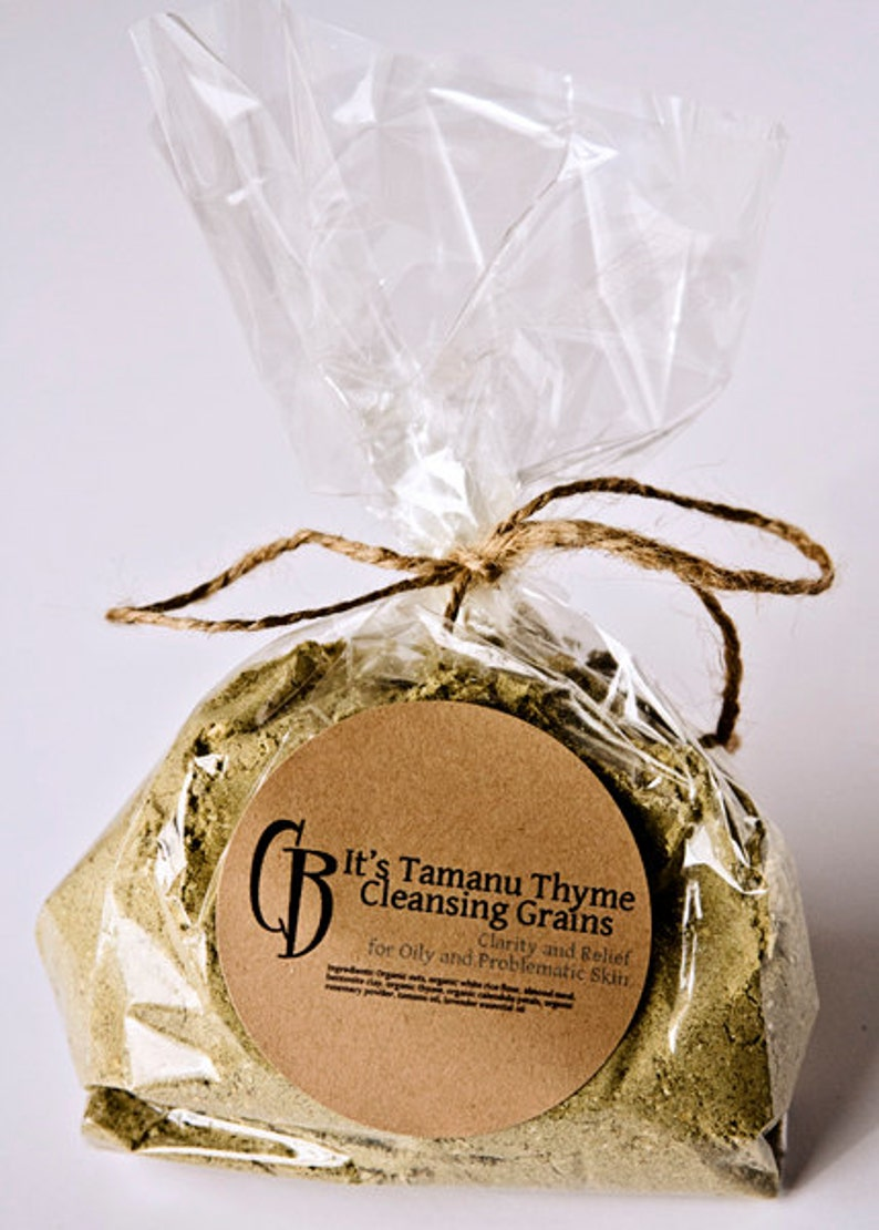 It's Tamanu Thyme Cleansing Grains Facial Scrub for Oily image 0