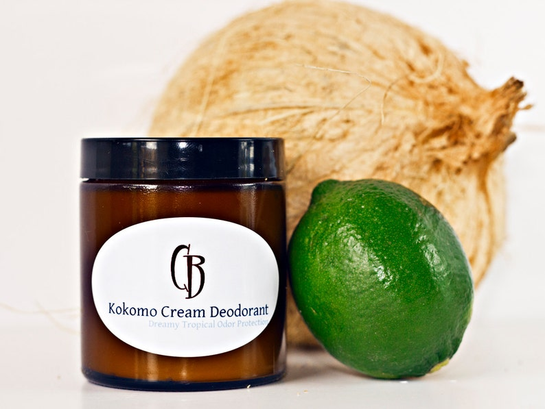 Kokomo Cream Natural Deodorant  Handmade Creamy Dreamy image 0