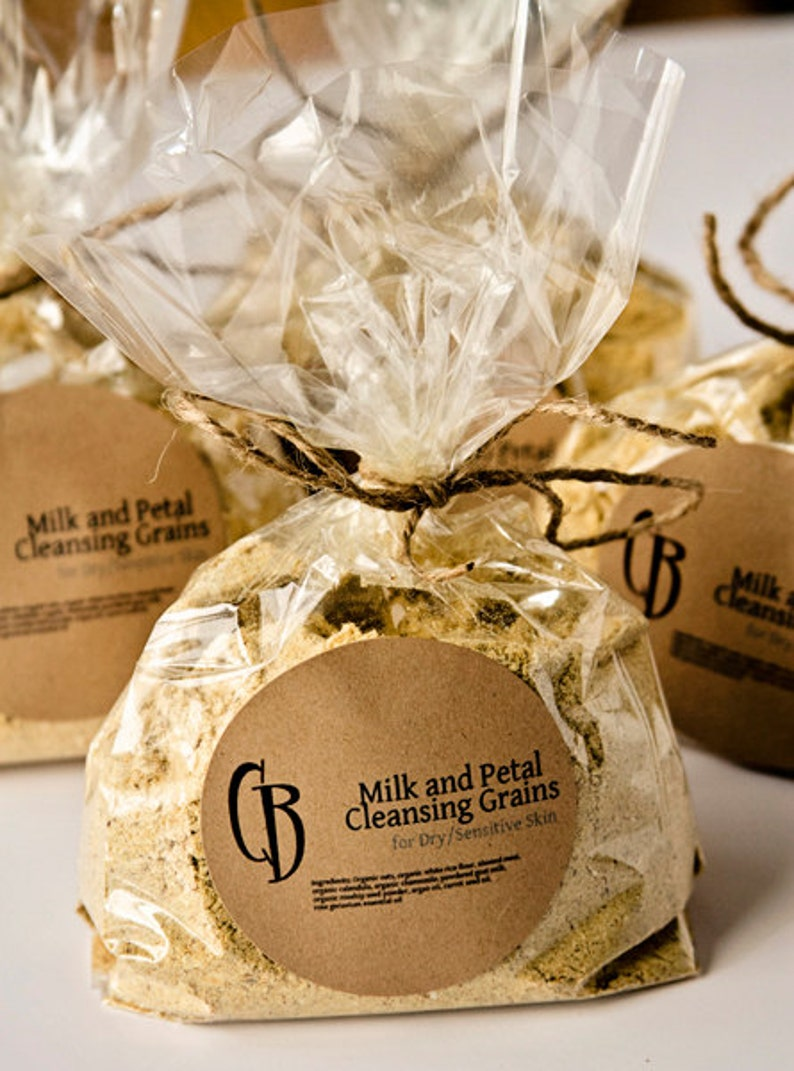 Cleansing Grains  Milk and Petal Facial Scrub  BULK 6 oz image 0