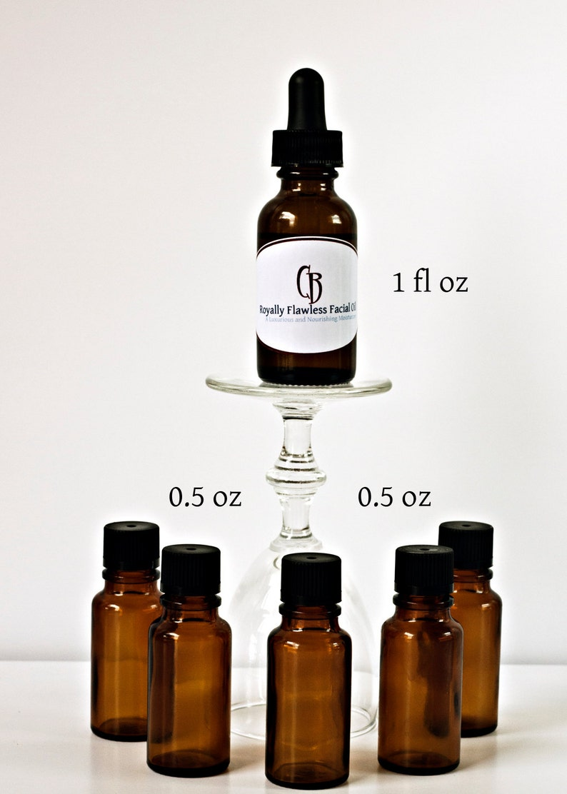 1/2 oz  Royally Flawless Facial Moisturizer Face Oil image 0