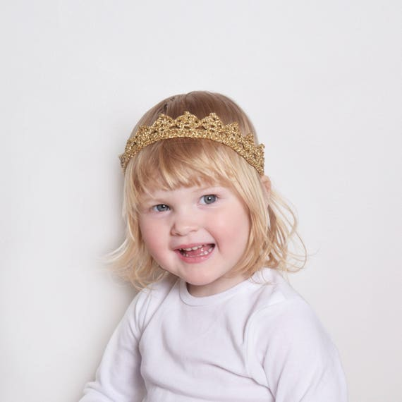 Flower Girl Crown Headband Princess Tiara Toddler Flower  3f6b820c749