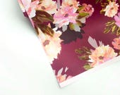 "ANALUCIA Merlot 20"" x 29"" gift wrap sheets 2 pk"