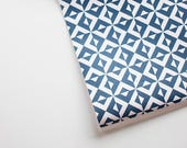 "NINA blush and navy tile print  20"" x 29"" gift wrap sheets 2 pk"