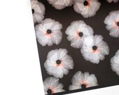 "WEEKEND COCKTAILS tissue florals 20"" x 29"" gift wrap sheets"