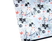 "LONG WEEKEND florals 20"" x 29"" gift wrap sheet"