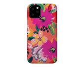 DOLCE tropical floral tech case iPhone 11, iPhone 11 Pro, iPhone 11 Pro Max, iPhone X/Xs, iPhone Xs Max, Samsung Galaxy S6 + more!