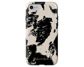 Bessie faux cow print tech case iPhone X/Xs, iPhone Xs Max, iPhone XR, iPhone 8/8 Plus, iPhone 7/7 Plus, Samsung Galaxy S6 + more!