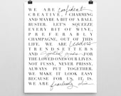FEARLESSLY CHIC MANTRA art print