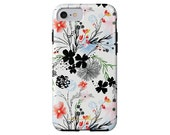 LONGWEEKEND BLUES dainty floral phone case iPhone X/Xs, iPhone Xs Max, iPhone XR, iPhone 7/8, iPhone 7/8 Plus, Samsung Galaxy S6 + more!
