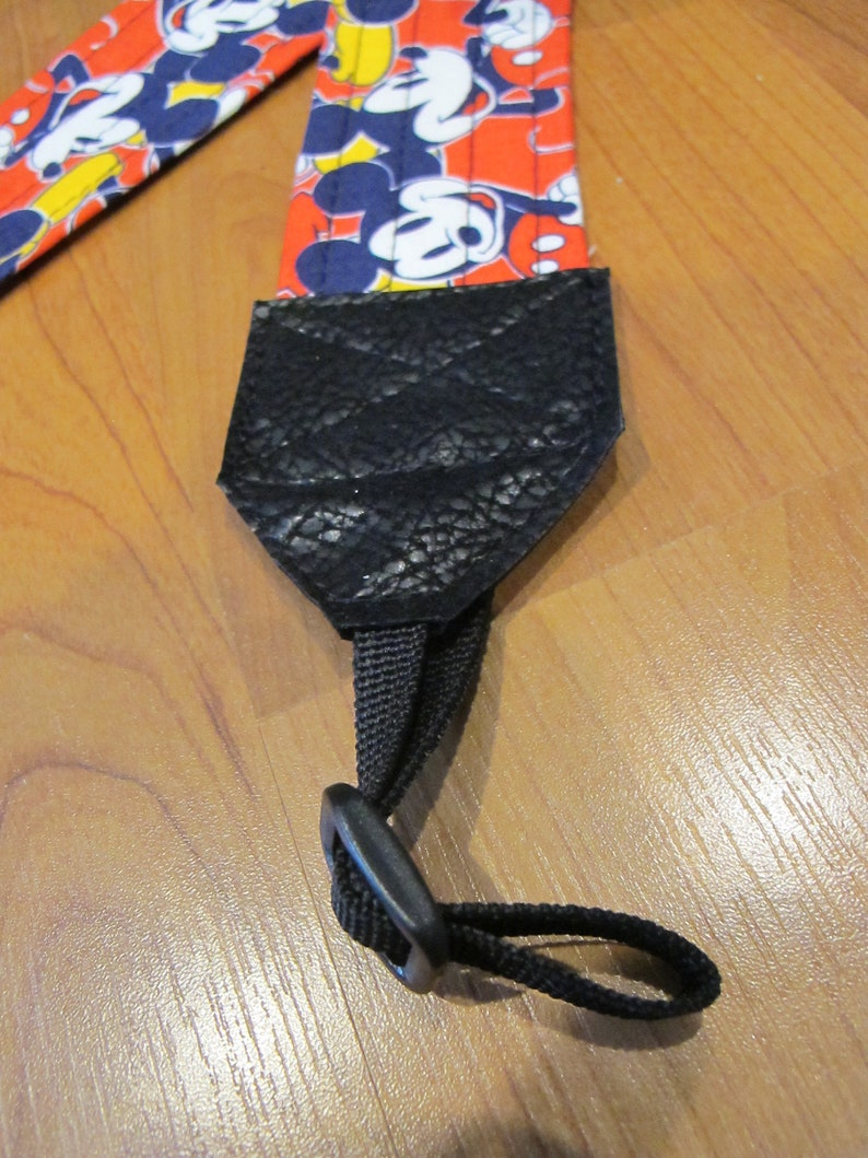 Mickey Mouse Red Camera Strap