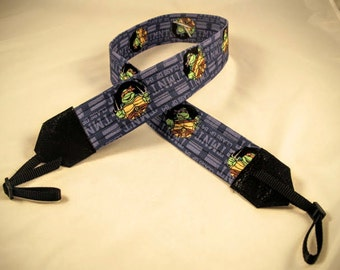 TMNT Camera Strap  Teenage Mutant Ninja Turtles  Cowabunga