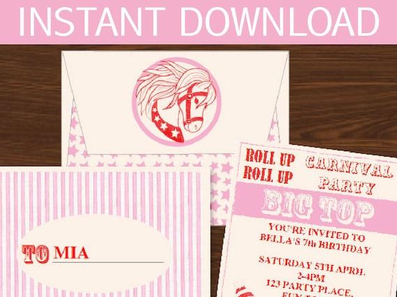 INSTANT DOWNLOAD Willy Wonka Birthday DIY Printable Kit
