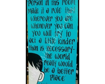 August Pullman Wonder Film Quotes