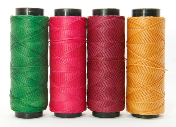 0.8mm Knotting Twine 100m Spool Waxed Cord Waxed Polyester Friendship bracelet Knotting Cord Macrame Cord