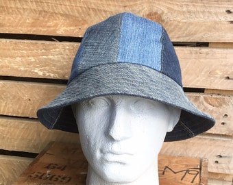 1a9e2f03782 Mens denim bucket hat