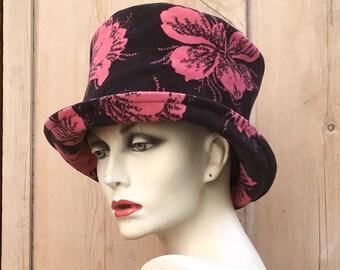 f4fbfa9cdba01 Pink velvet top hat